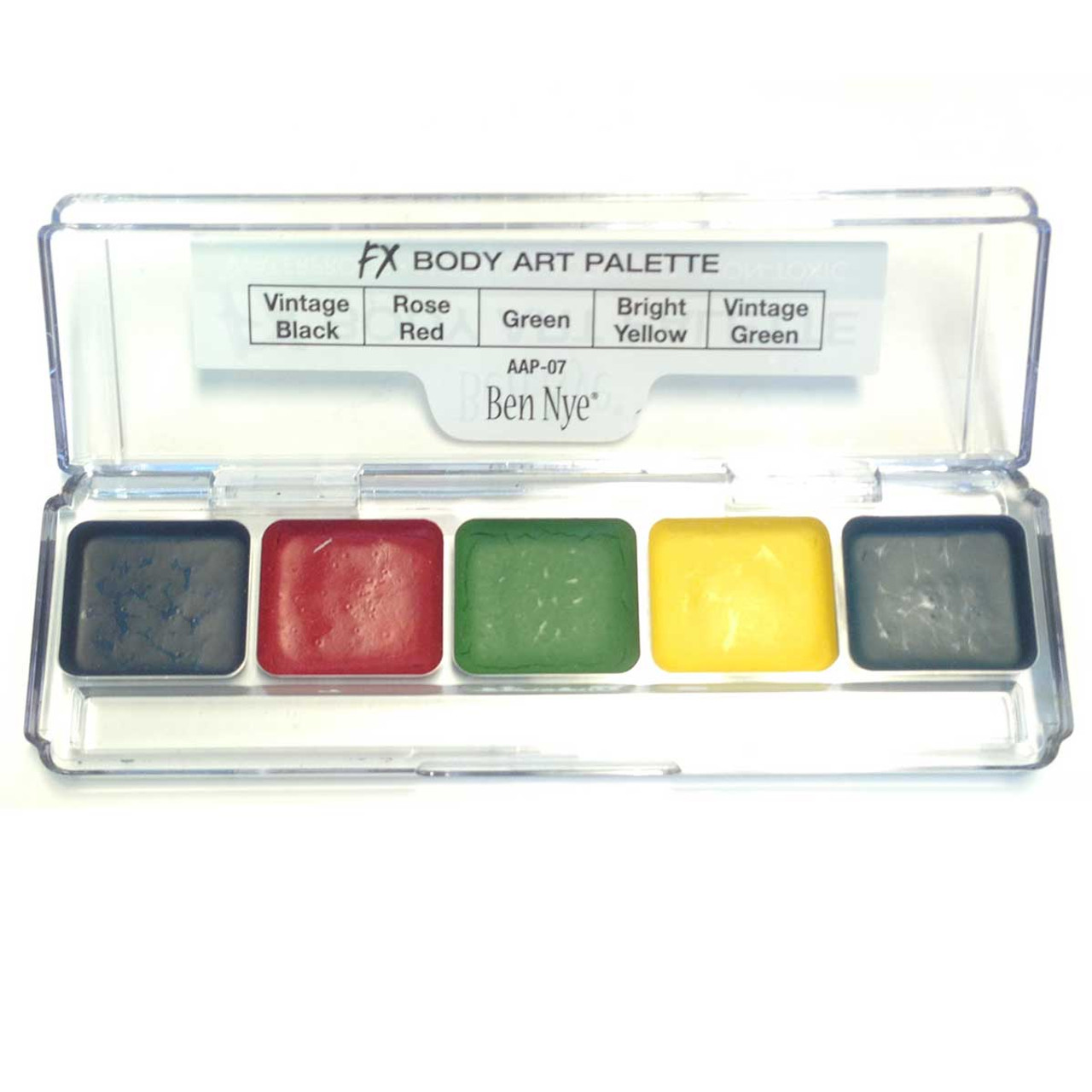 Ben Nye Body Art Palette Alcohol Activated