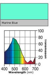 Lee #131 Marine Blue Gel Filter