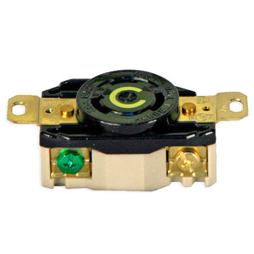Terrific Lex 30 Amp 125 Vac Nema L5 30 Locking Single Receptacle Nema Wiring 101 Louspimsautoservicenl