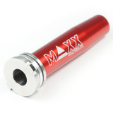 Maxx CNC Stainless Steel/Aluminum Spring Guide Thru-Hole
