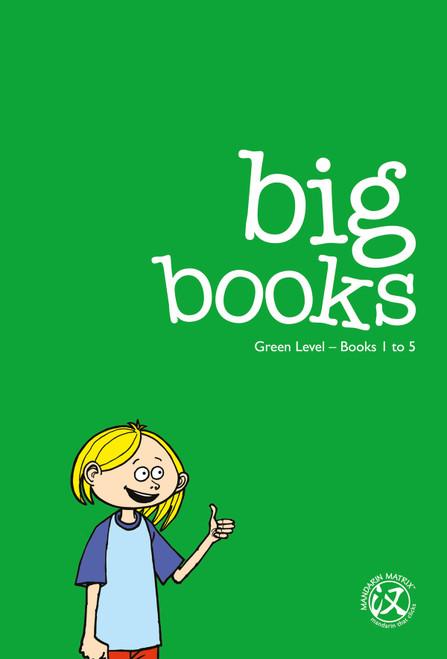 Big Books: Green Level 3 (Books 1-40)