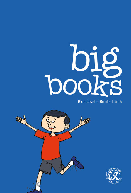 Big Books: Blue Level 2 (Books 1-40)