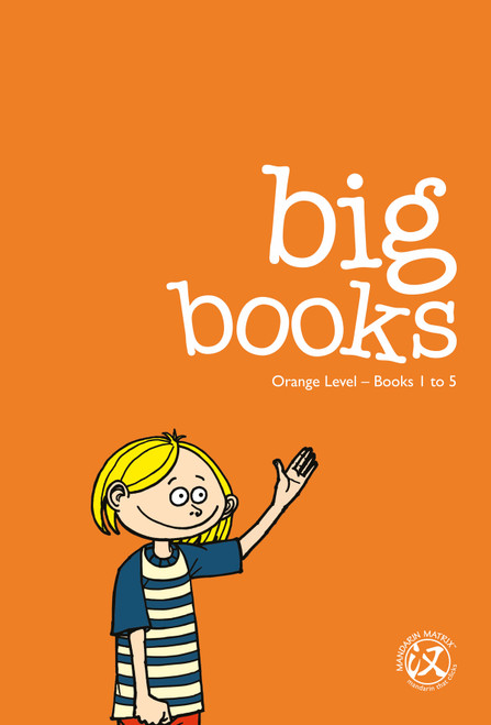 Big Books: Orange Level 1 (Books 1-40)