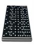 Black Aluminum Anodized Dominoes, Custom dominoes