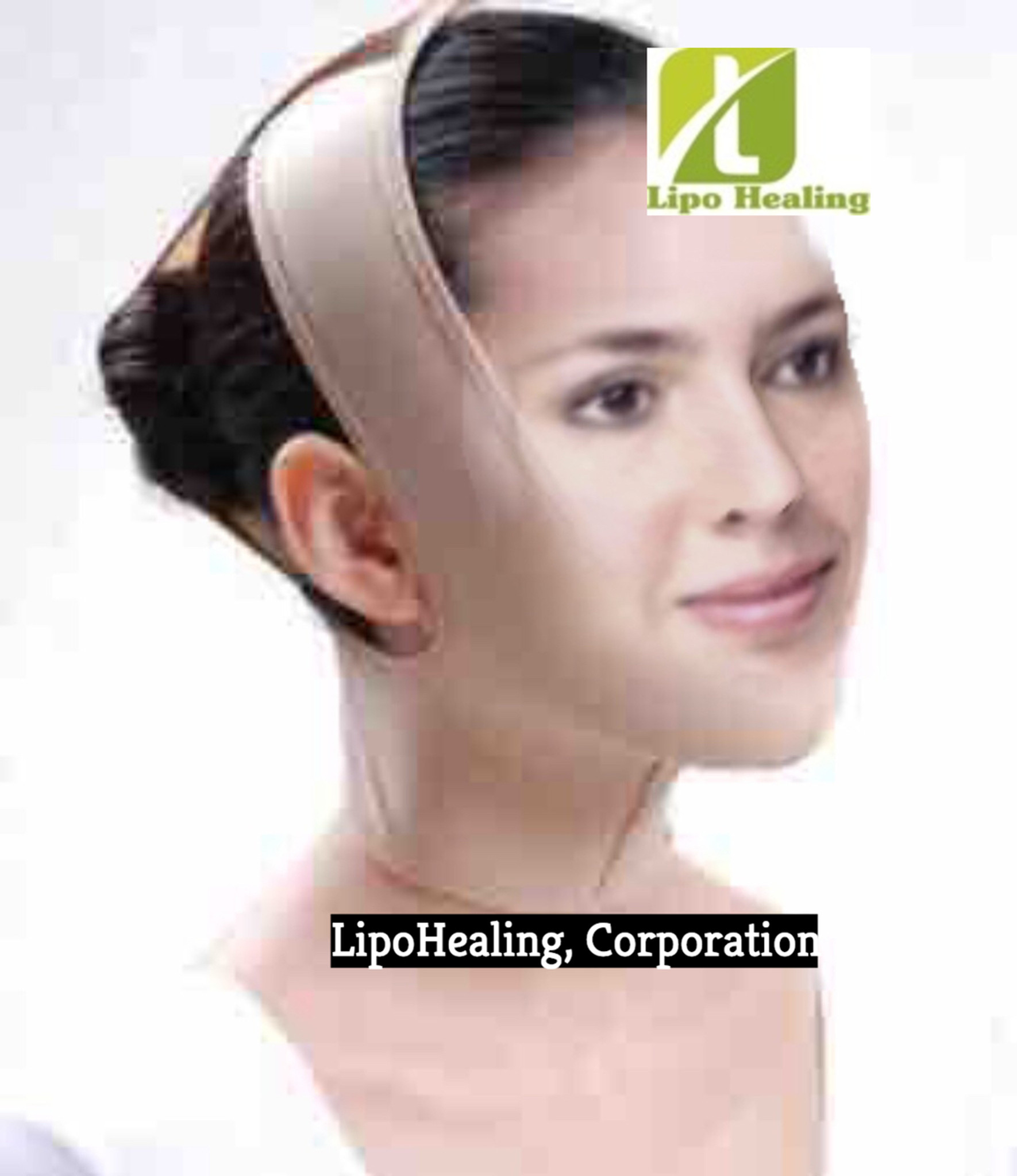 Post Surgical Chin Strap With Free Lipofoam Strips and Body Adhesive