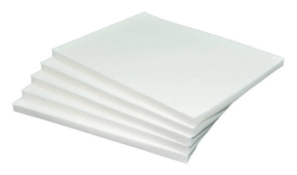 Lipo Foam gives uniform smooth compression over a suctioned area. It is ideal for arms, chins, abdomen, thighs or any area uniform healing is necessary. Lipo Foam can be inserted between a garment.
