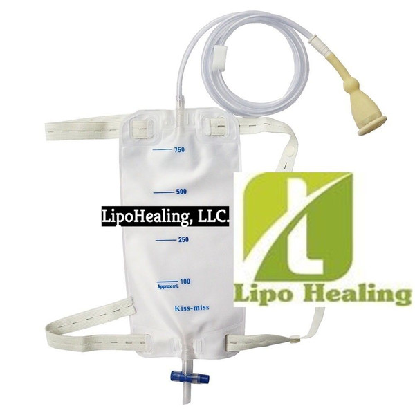 Urine Leg Bag Collector Catheter Male PORTABLE Wearable Men's Urinal