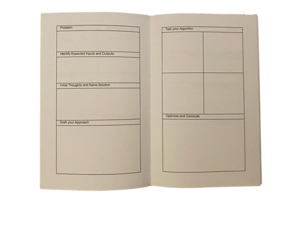 Stacked Workbook -  8.5 x 5.5, 80 Pages