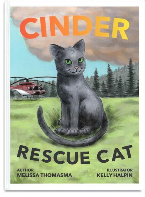 Cinder, Rescue Cat
