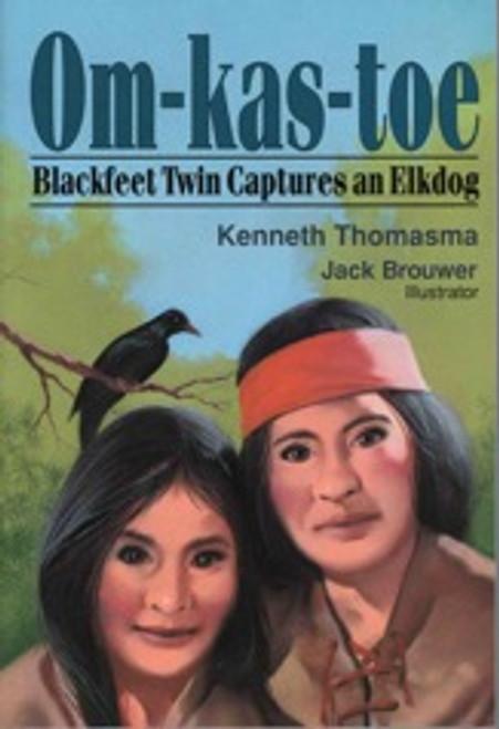 Om-Kas-Toe, Blackfeet Twin Captures an Elkdog