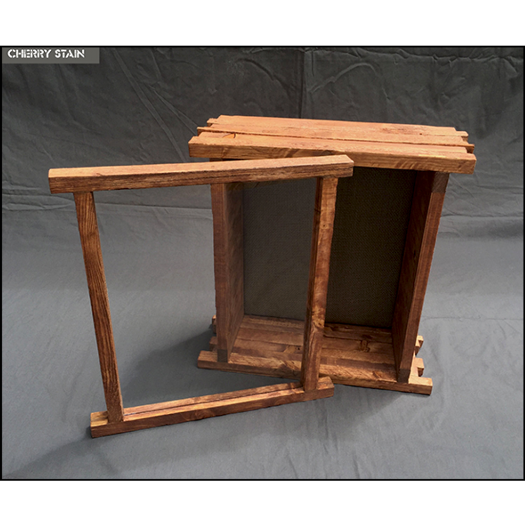 "Shadow Box Artisan Barnyard - 11"" W x 14"" H x 6"" D Espresso"