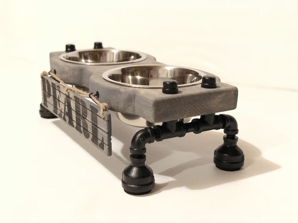 "Elevated Dog Feeding Station - Small - 4"" Height"