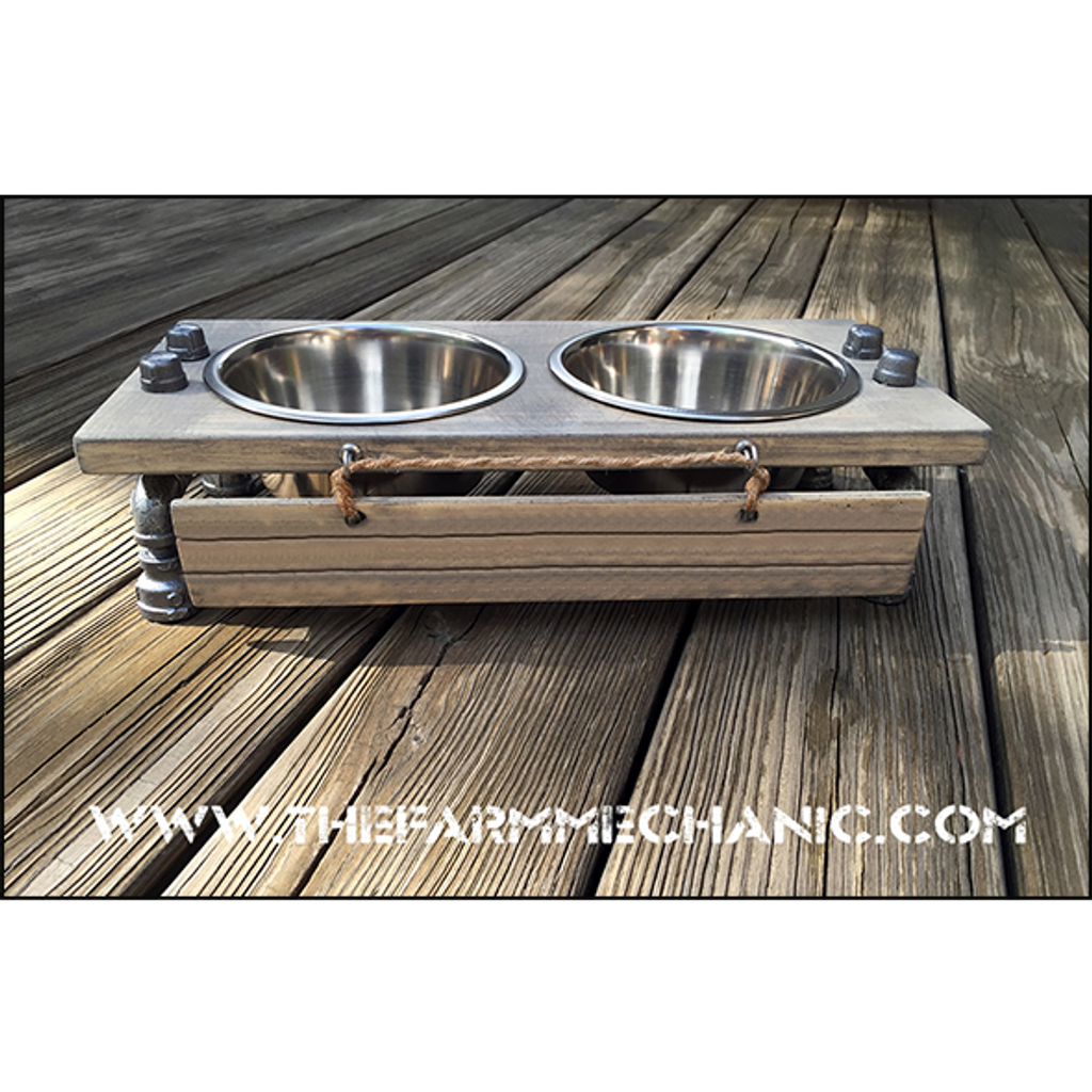"Dog Bowl Stand - Medium - 7"" Height"