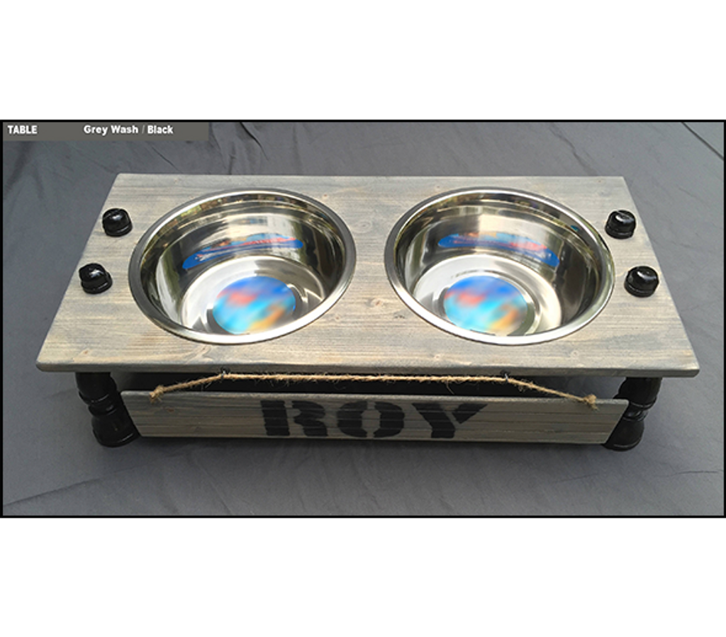 """Dog Bowl Stand - XL - 7"""" Height"""