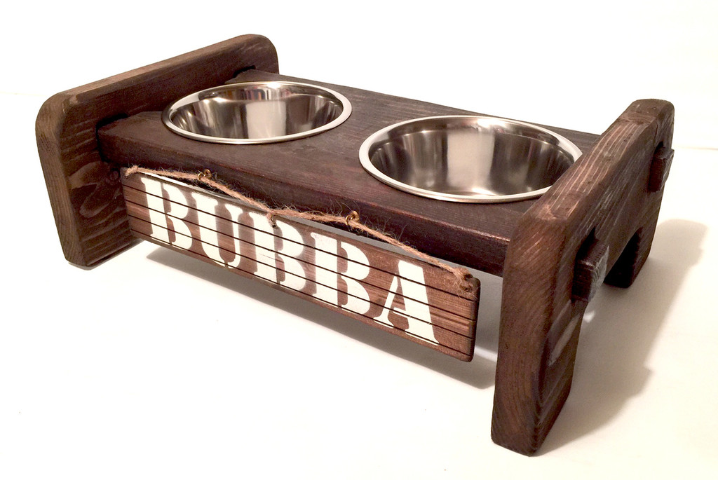 Interlocking Dog Bowl Stand