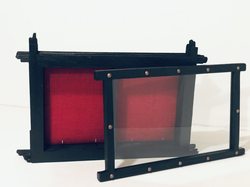 Double Book Display Case