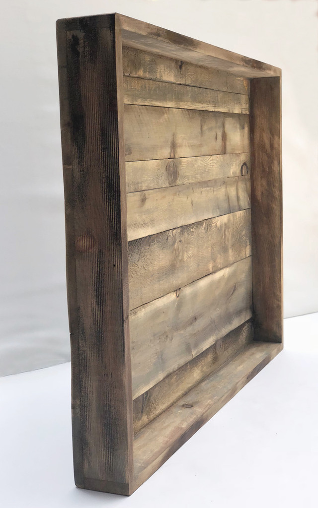 Distressed and Weathered Display Frame