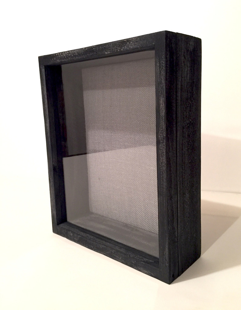 Shadow Box - Artisan Rustic - Black Wash
