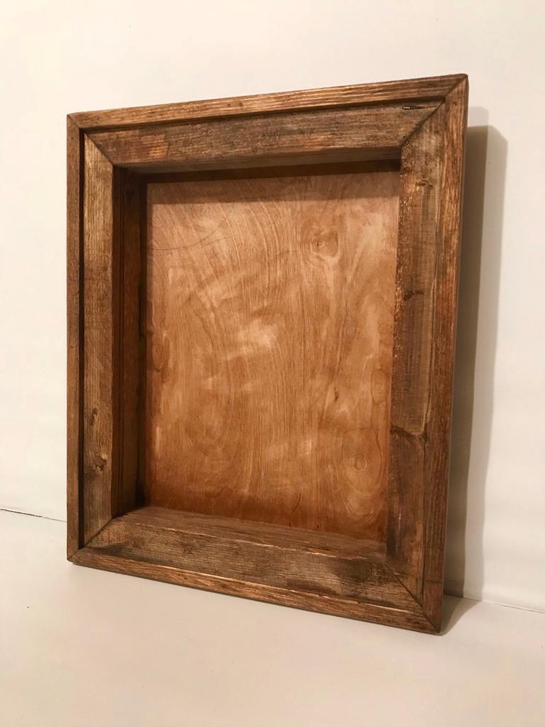 "Decorative Frame Shadow Box - 16"" x 16"" x 4"""