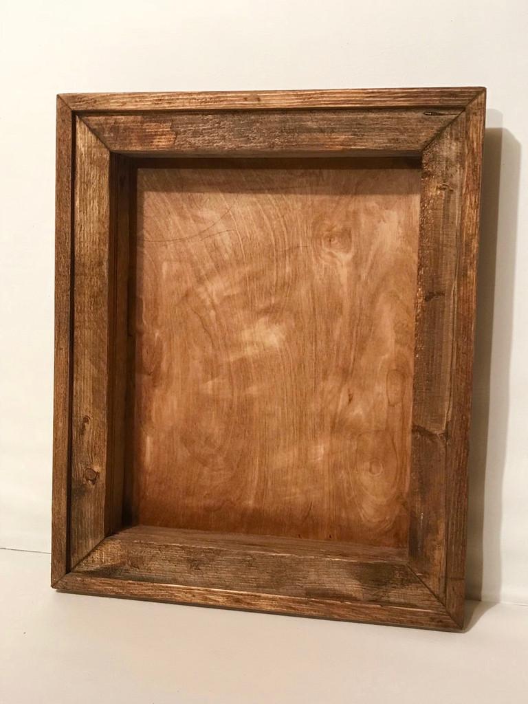 """16"""" x 16"""" x 4"""" - Shadow Box with Decorative Frame"""