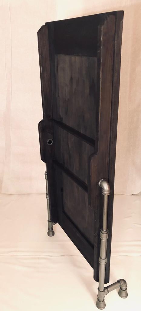 Event Decor | Artisan Floor Mirror with Black Pipe Legs