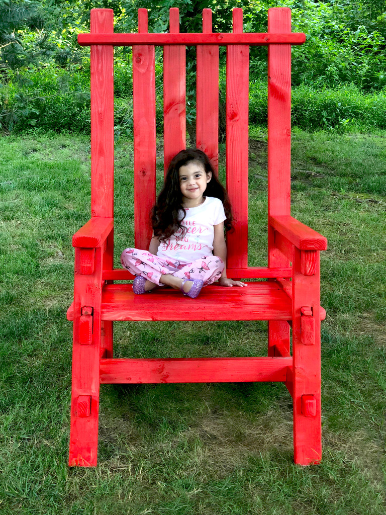 Adirondack Chair | Event Decor Rental