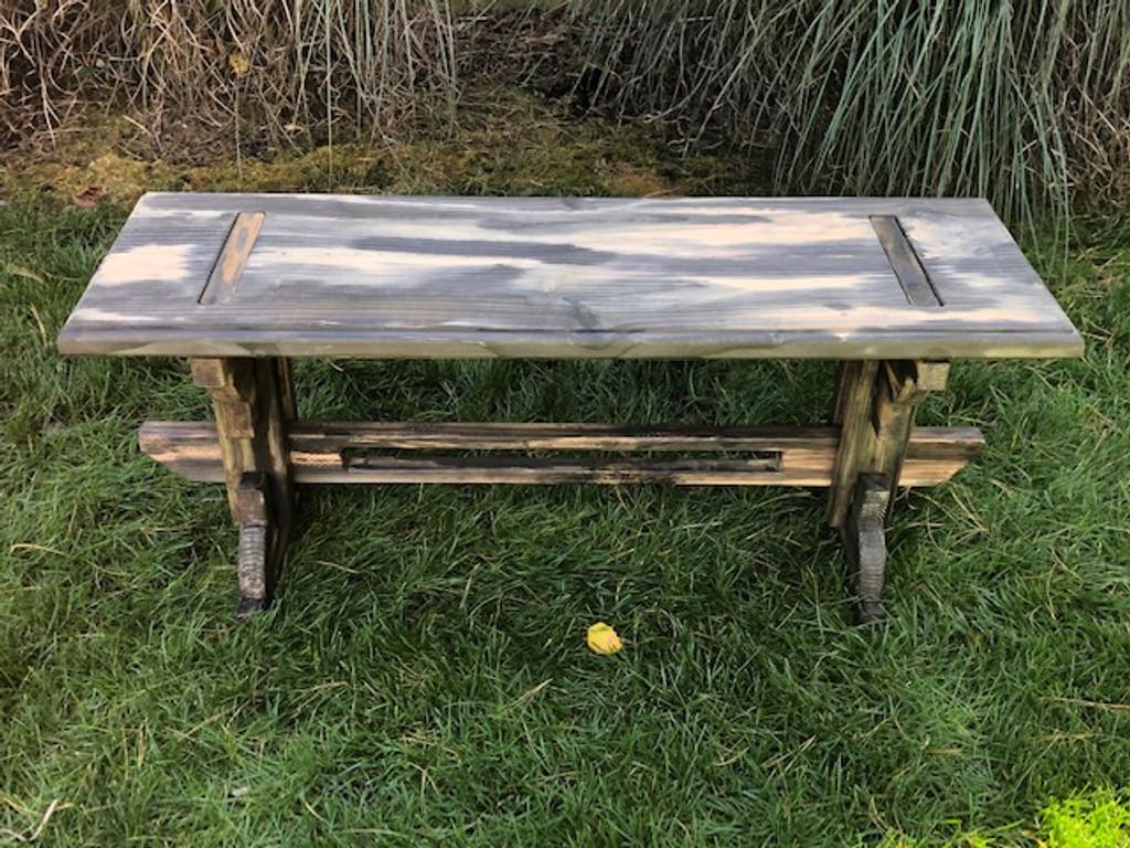 """Artisan Garden Bench - 48"""""""