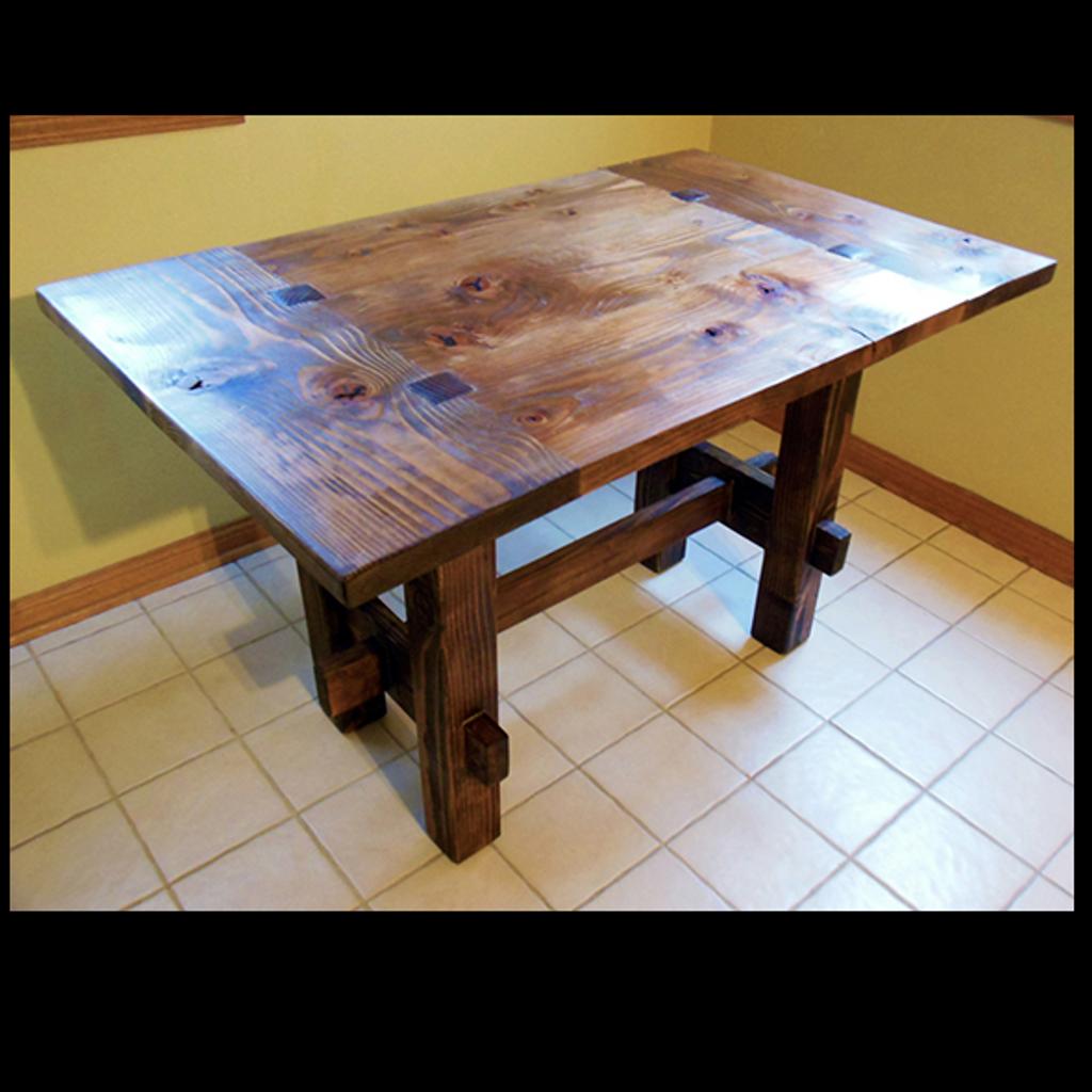 Artisan Rustic Table