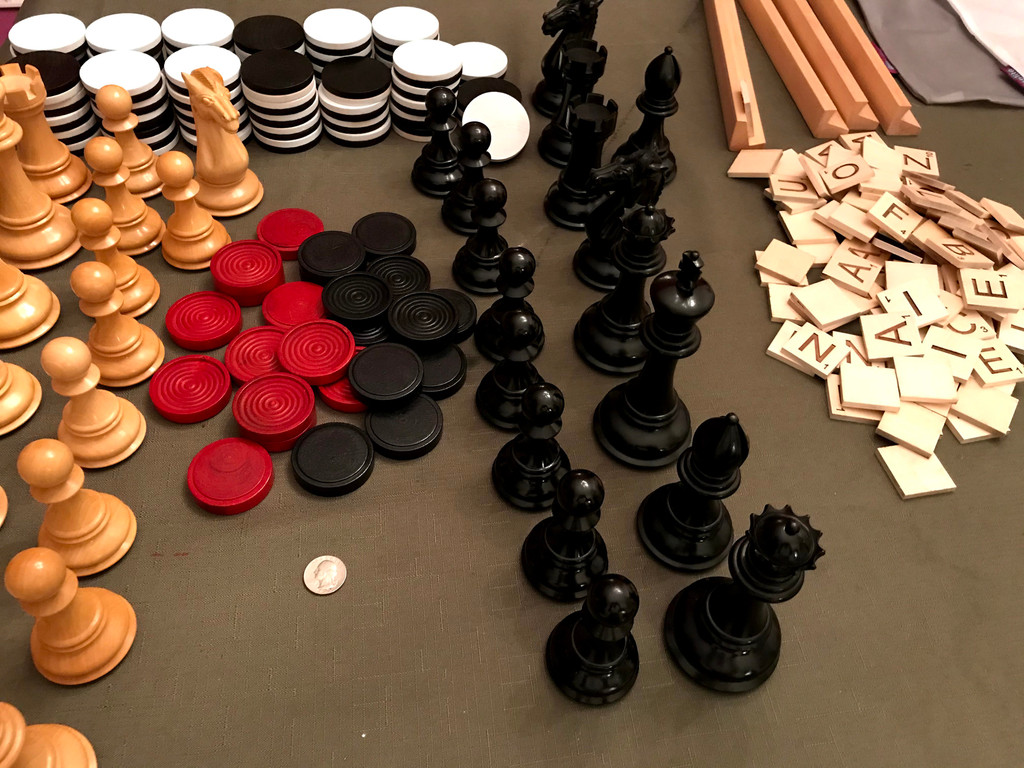 Oversized Board Game Pieces