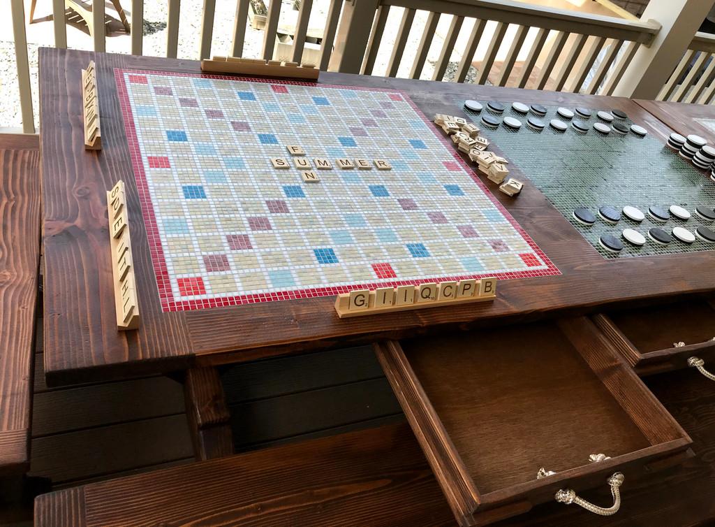 Mosaic Inlay Board Games
