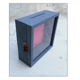 "Shadow Box -  Rustic Treasure Box - 10"" W x 10"" H x 3"" D"