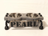 """Elevated Dog Bowl Stand - Small - 4"""" Height"""