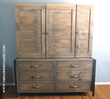 Artisan Oversized Dresser and Shoe Closet