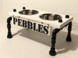 """Raised Dog Bowl Stand - Large - 10"""" Height"""
