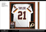 "Sean Taylor Jersey Display Case – 28""W x 32""H x .5""D - UPGRADE FEE"