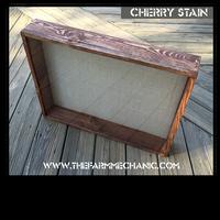 "Shadow Box - Artisan Rustic -18"" W x 24"" H x 5"" D Cherry"