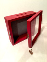 "Shadow Box - Artisan Rustic Treasure Box - 10"" W x 10"" H x 3"" D"