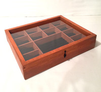 12 Piece Watch and Accessories Display Case| Artisan Rustic Collection