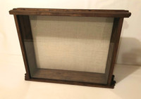 "Shadow Box - The Artisan Grand Barnyard - 24"" W x 20"" H x 5"" D"