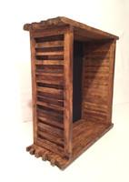 "Shadow Box - The Artisan Grand Barnyard - 16 W x 20"" H x 8"" D | Butterscotch"