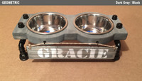 "Dog Feeding Station - Medium - 7"" Height"