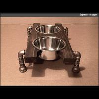 Artisan Dog Bowl Stand