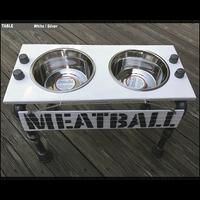 "Elevated Dog Bowls -Medium - 16"" Height"