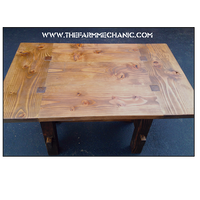 Artisan Rustic Breakfast Table