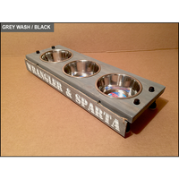 3 Bowl Dog Feeding Station - Medium/Short with 3 Bowls