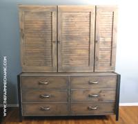 Artisan Oversized Dresser and Shoe Closet