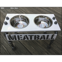 "Dog Feeding Station -Medium  - 12""H"