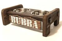 Interlocking Dog Bowl Stand