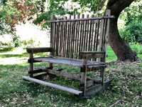 Love Seat Rocking Chair