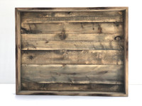 Distressed and Weathered Display Case
